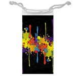 Crazy Multicolored Double Running Splashes Horizon Jewelry Bags