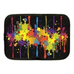Crazy Multicolored Double Running Splashes Horizon Netbook Case (Medium)