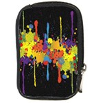 Crazy Multicolored Double Running Splashes Horizon Compact Camera Cases