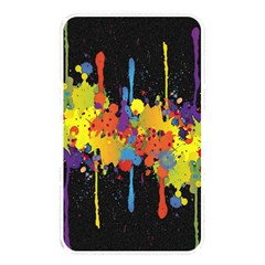 Crazy Multicolored Double Running Splashes Horizon Memory Card Reader by EDDArt