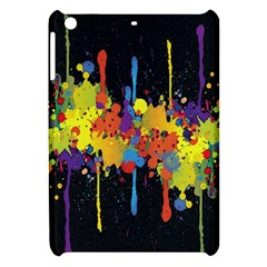 Crazy Multicolored Double Running Splashes Horizon Apple Ipad Mini Hardshell Case by EDDArt