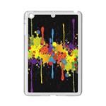 Crazy Multicolored Double Running Splashes Horizon iPad Mini 2 Enamel Coated Cases