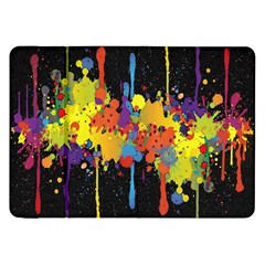 Crazy Multicolored Double Running Splashes Horizon Samsung Galaxy Tab 8 9  P7300 Flip Case