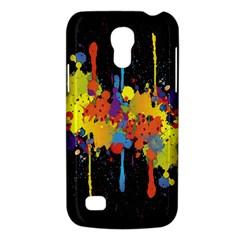 Crazy Multicolored Double Running Splashes Horizon Galaxy S4 Mini by EDDArt