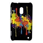 Crazy Multicolored Double Running Splashes Horizon Nokia Lumia 620