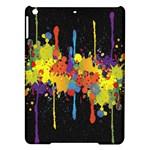 Crazy Multicolored Double Running Splashes Horizon iPad Air Hardshell Cases