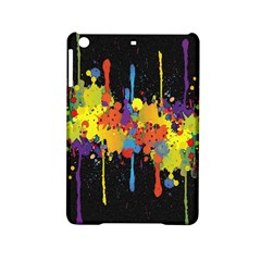 Crazy Multicolored Double Running Splashes Horizon Ipad Mini 2 Hardshell Cases by EDDArt