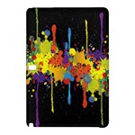 Crazy Multicolored Double Running Splashes Horizon Samsung Galaxy Tab Pro 10.1 Hardshell Case