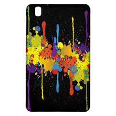Crazy Multicolored Double Running Splashes Horizon Samsung Galaxy Tab Pro 8 4 Hardshell Case