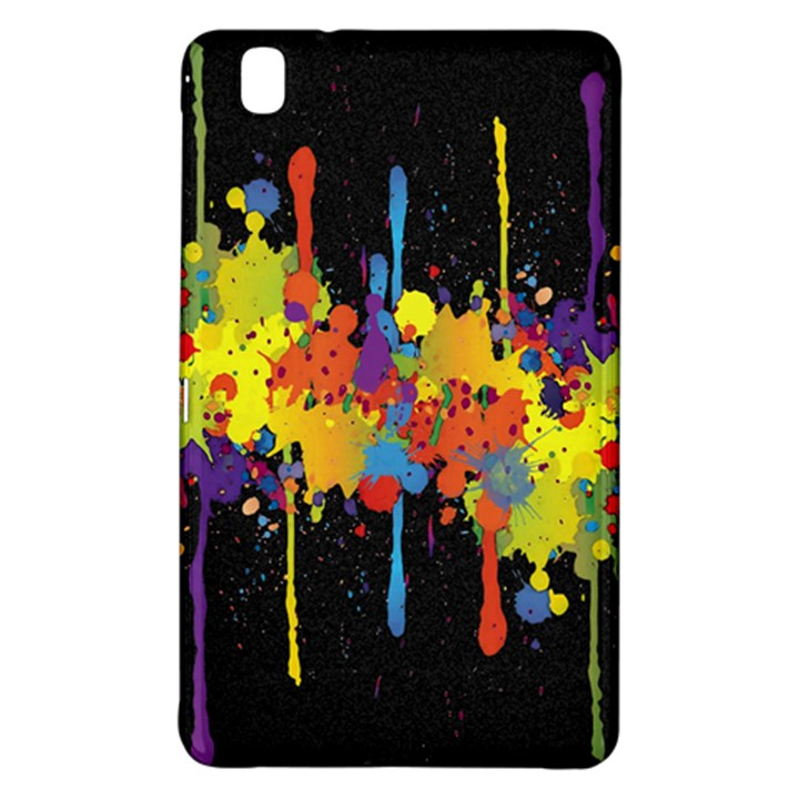 Crazy Multicolored Double Running Splashes Horizon Samsung Galaxy Tab Pro 8.4 Hardshell Case