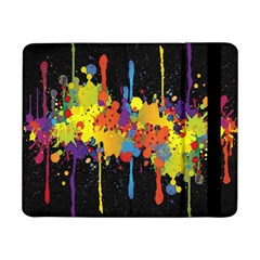 Crazy Multicolored Double Running Splashes Horizon Samsung Galaxy Tab Pro 8 4  Flip Case