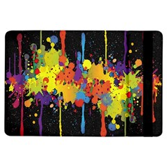 Crazy Multicolored Double Running Splashes Horizon Ipad Air Flip