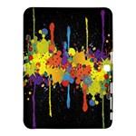 Crazy Multicolored Double Running Splashes Horizon Samsung Galaxy Tab 4 (10.1 ) Hardshell Case
