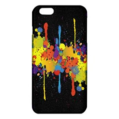 Crazy Multicolored Double Running Splashes Horizon Iphone 6 Plus/6s Plus Tpu Case