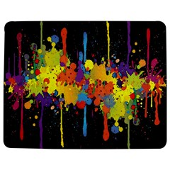 Crazy Multicolored Double Running Splashes Horizon Jigsaw Puzzle Photo Stand (rectangular) by EDDArt