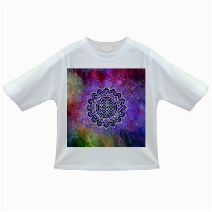 Flower Of Life Indian Ornaments Mandala Universe Infant/Toddler T-Shirts