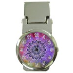 Flower Of Life Indian Ornaments Mandala Universe Money Clip Watches Front