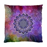 Flower Of Life Indian Ornaments Mandala Universe Standard Cushion Case (Two Sides) Back