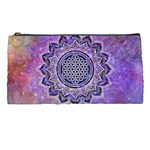 Flower Of Life Indian Ornaments Mandala Universe Pencil Cases Front