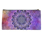Flower Of Life Indian Ornaments Mandala Universe Pencil Cases Back