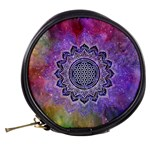Flower Of Life Indian Ornaments Mandala Universe Mini Makeup Bags Back