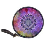 Flower Of Life Indian Ornaments Mandala Universe Classic 20-CD Wallets Front