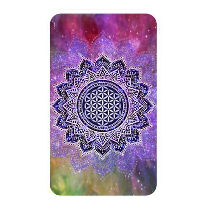 Flower Of Life Indian Ornaments Mandala Universe Memory Card Reader