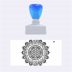 Flower Of Life Indian Ornaments Mandala Universe Rubber Stamps (medium)