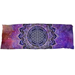 Flower Of Life Indian Ornaments Mandala Universe Body Pillow Case (dakimakura) by EDDArt