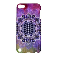 Flower Of Life Indian Ornaments Mandala Universe Apple Ipod Touch 5 Hardshell Case