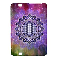 Flower Of Life Indian Ornaments Mandala Universe Kindle Fire Hd 8 9  by EDDArt