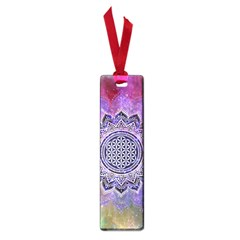 Flower Of Life Indian Ornaments Mandala Universe Small Book Marks by EDDArt