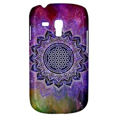 Flower Of Life Indian Ornaments Mandala Universe Samsung Galaxy S3 Mini I8190 Hardshell Case