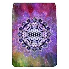 Flower Of Life Indian Ornaments Mandala Universe Flap Covers (l)