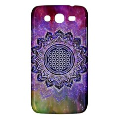 Flower Of Life Indian Ornaments Mandala Universe Samsung Galaxy Mega 5 8 I9152 Hardshell Case