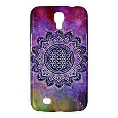 Flower Of Life Indian Ornaments Mandala Universe Samsung Galaxy Mega 6 3  I9200 Hardshell Case by EDDArt