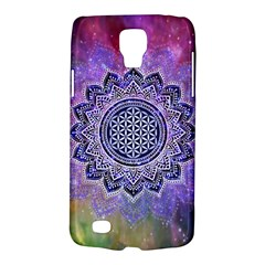 Flower Of Life Indian Ornaments Mandala Universe Galaxy S4 Active by EDDArt
