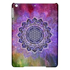 Flower Of Life Indian Ornaments Mandala Universe Ipad Air Hardshell Cases by EDDArt