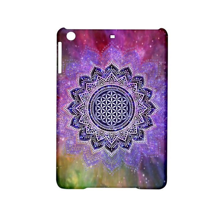Flower Of Life Indian Ornaments Mandala Universe iPad Mini 2 Hardshell Cases