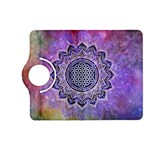 Flower Of Life Indian Ornaments Mandala Universe Kindle Fire HD (2013) Flip 360 Case Front