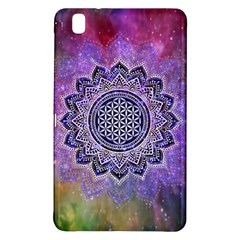 Flower Of Life Indian Ornaments Mandala Universe Samsung Galaxy Tab Pro 8 4 Hardshell Case