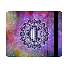 Flower Of Life Indian Ornaments Mandala Universe Samsung Galaxy Tab Pro 8 4  Flip Case