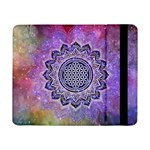 Flower Of Life Indian Ornaments Mandala Universe Samsung Galaxy Tab Pro 8.4  Flip Case Front