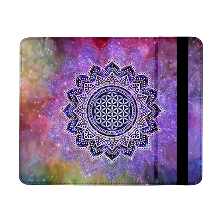 Flower Of Life Indian Ornaments Mandala Universe Samsung Galaxy Tab Pro 8.4  Flip Case