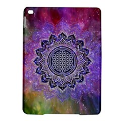 Flower Of Life Indian Ornaments Mandala Universe Ipad Air 2 Hardshell Cases by EDDArt