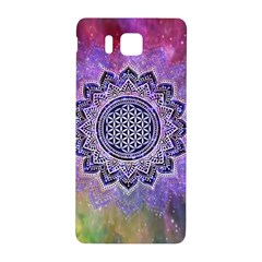 Flower Of Life Indian Ornaments Mandala Universe Samsung Galaxy Alpha Hardshell Back Case by EDDArt