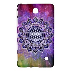 Flower Of Life Indian Ornaments Mandala Universe Samsung Galaxy Tab 4 (7 ) Hardshell Case
