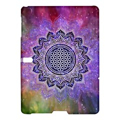 Flower Of Life Indian Ornaments Mandala Universe Samsung Galaxy Tab S (10 5 ) Hardshell Case