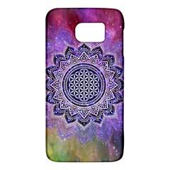 Flower Of Life Indian Ornaments Mandala Universe Galaxy S6