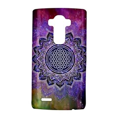 Flower Of Life Indian Ornaments Mandala Universe Lg G4 Hardshell Case by EDDArt